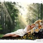 Укрощение тигра. Или притча о том, как покорить мужчину.