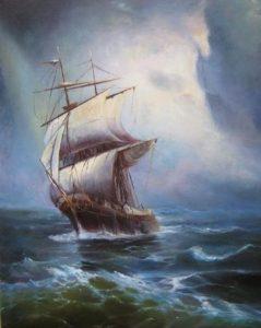 Притча. Философ и моряк. Половина жизни.